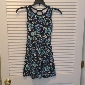 Blue floral dress from Justice